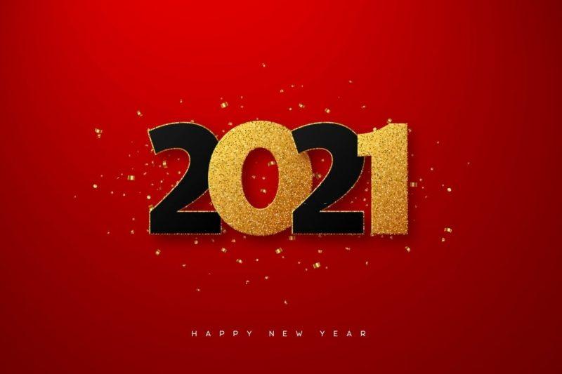 تهنئة 2021 عام جديد 3