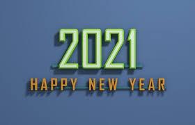 2021 happy new year 2