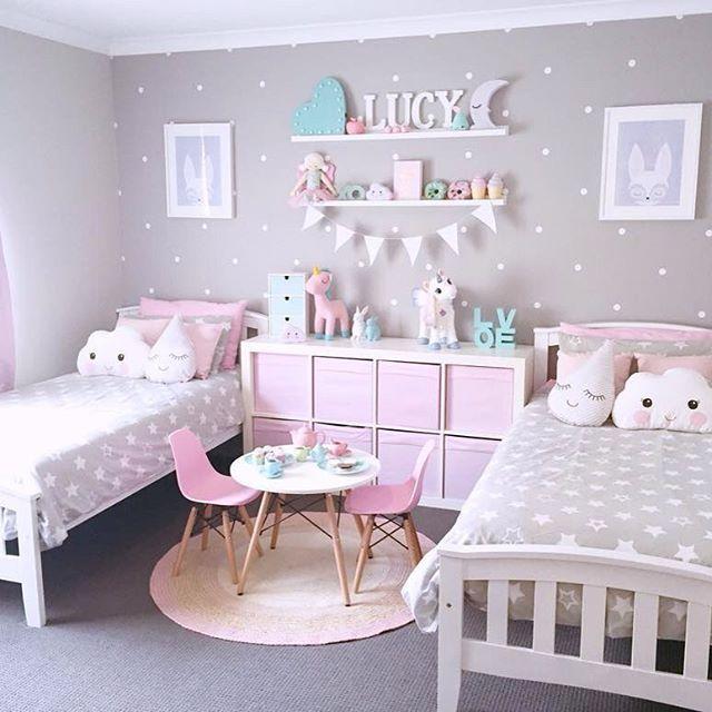 ديكورات غرف نوم اطفال بنات 2021 2