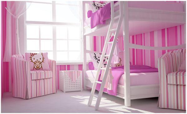 غرف نوم اطفال بنات 2021 3