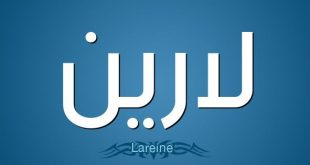 معنى اسم لارين